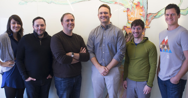 The Madrona Labs team: Amy Falcone, Geoffrey Elliott, Brian Fioca, Mike Fridgen, Brendan Ribera, Matt Terich