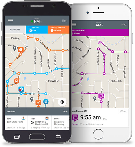 Track His Phone >> App of the Week: MyBusVue helps parents track school bus routes – GeekWire