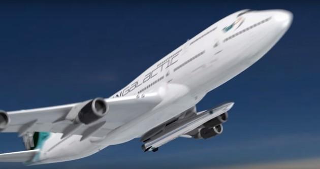 Virgin Galactic 747