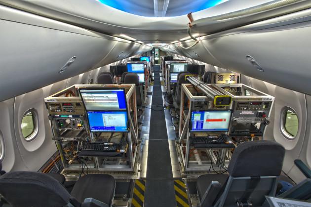 Boeing 747 MAX interior