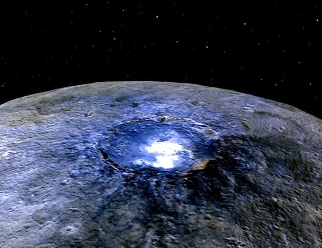 Ceres' Occator Crater