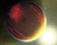 Hot Jupiter planet