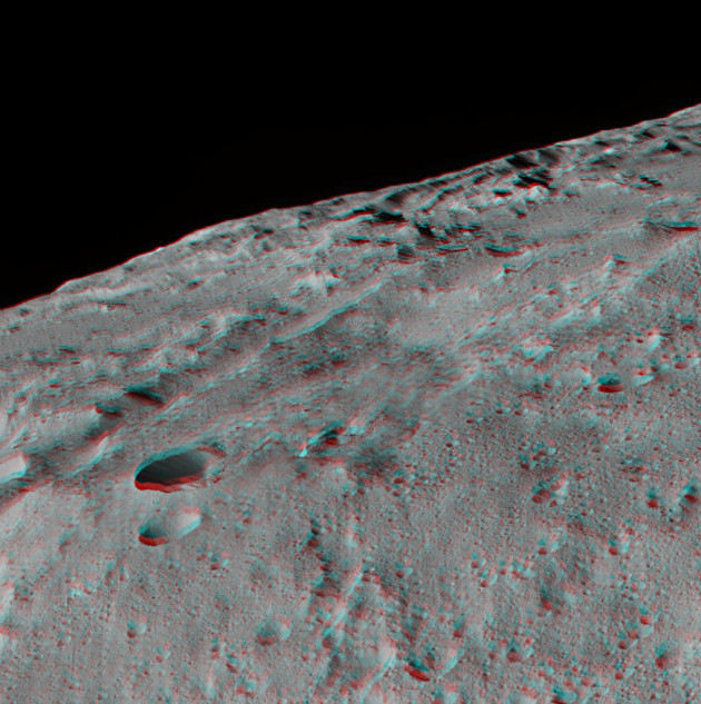 3-D view of Ceres