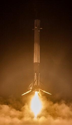 SpaceX Falcon landing
