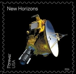 Pluto New Horizons stamp