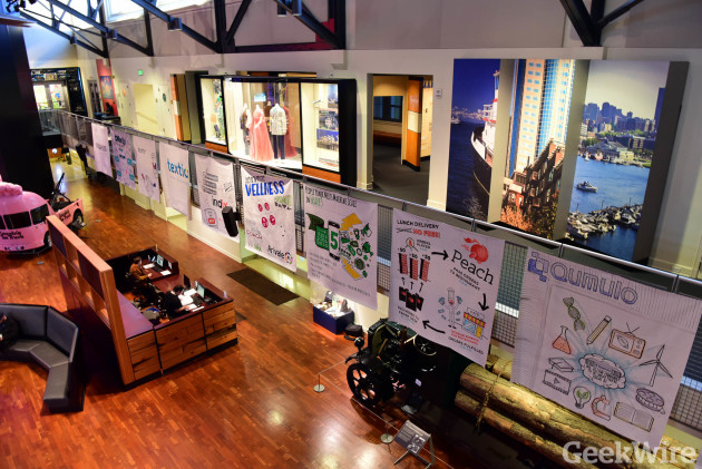 The 2015 Seattle 10 companies on display at MOHAI