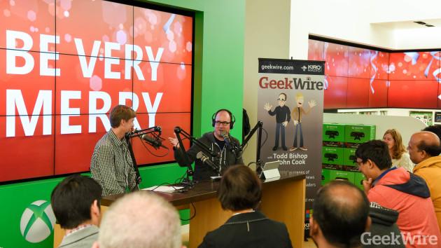 GeekWire Radio - Microsoft Store Bellevue