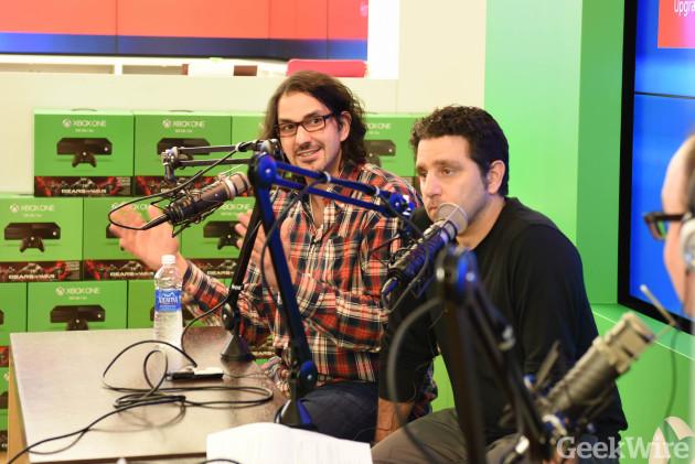 GeekWire Radio - Panos Panay & Stevie Bathiche