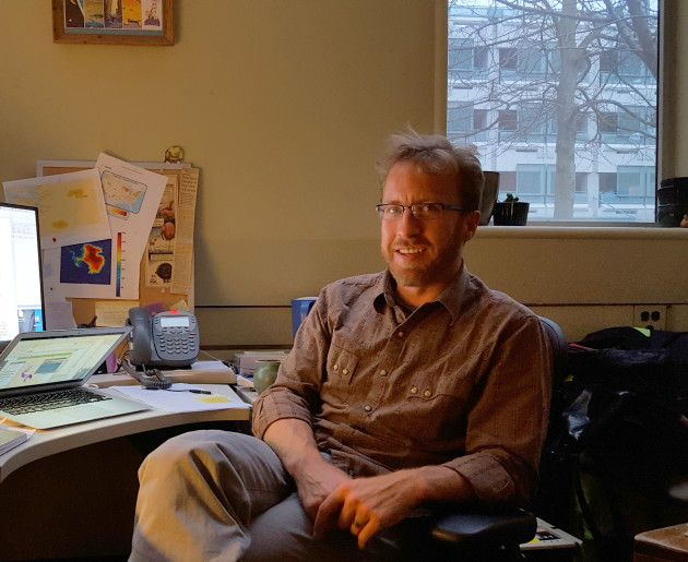 Guillaume Mauger, research scientist with the University of Washington's Climate Impacts Group.