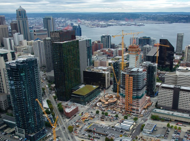 Amazons new campus near downtown Seattle.