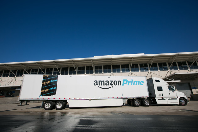 Amazon has bought thousands of truck trailers as it increasingly takes shipping into its own hands. (Photo via Amazon)