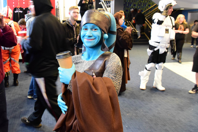 Aayla Secura all in blue