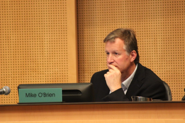 Seattle Councilmember Mike O'Brien.