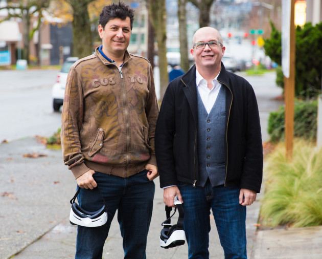Pixvana founders Bill Hensler and Forest Key. Photo via Pixvana.
