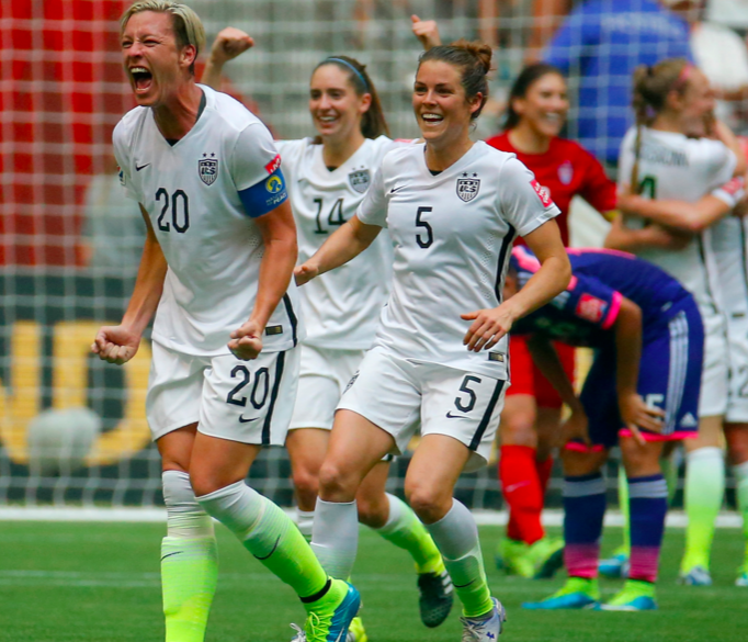 Photo via Bing/U.S. Women's soccer team