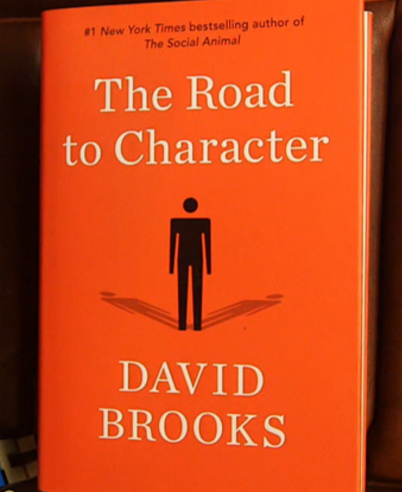 Photo via Gates Notes/David Brooks' 'The Road to Character'