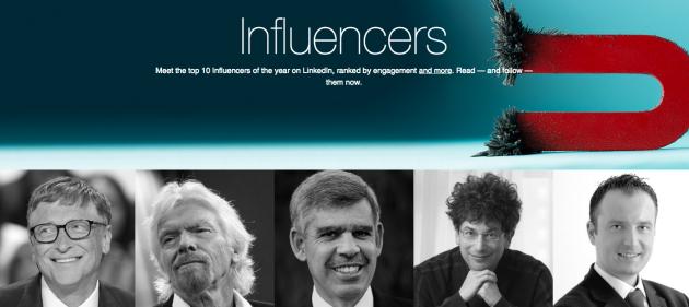 Photo via LinkedIn/Top Influencers 2015