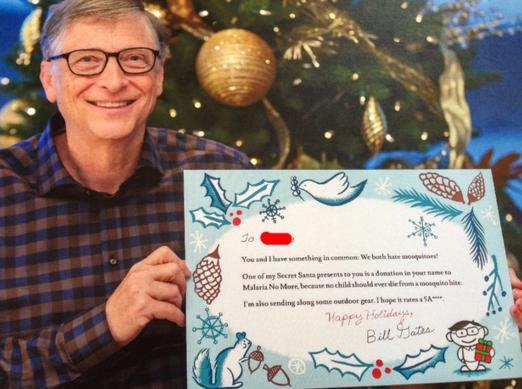 Photo via RedditGift/NayaTheNinja/Bill Gates Secret Santa