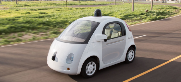 Photo via Google Self-Driving Car Project