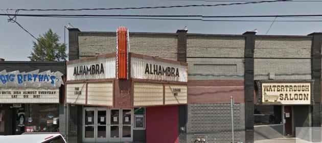 Photo via Google Maps/Portland's Alhambra Theatre