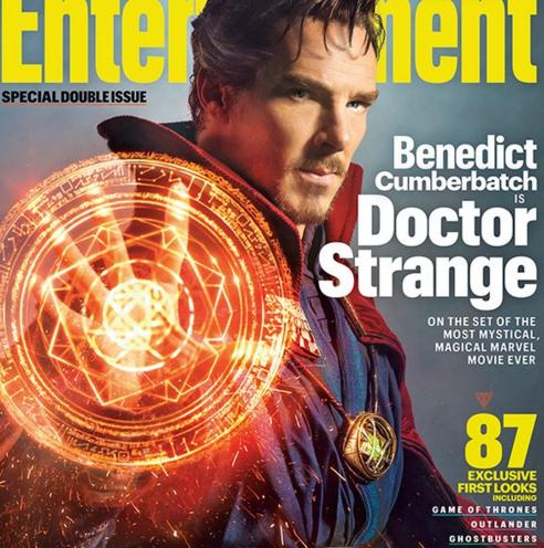 Photo via Twitter/EW/Doctor Strange