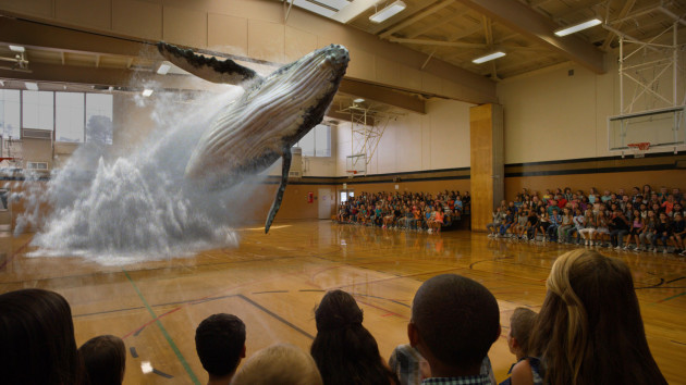 Still from a Magic Leap demo video