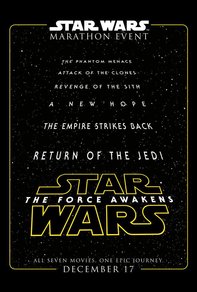 Contest: Win a Cinerama 'Star Wars' Marathon ticket from