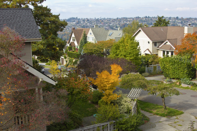 Seattle's housing market is on fire. Photo via Shutterstock