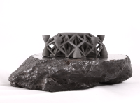 3-D printing with asteroid metal