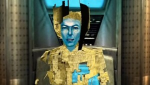 David Bowie as video game character