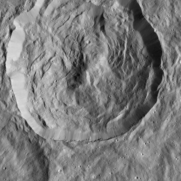 Cerean crater