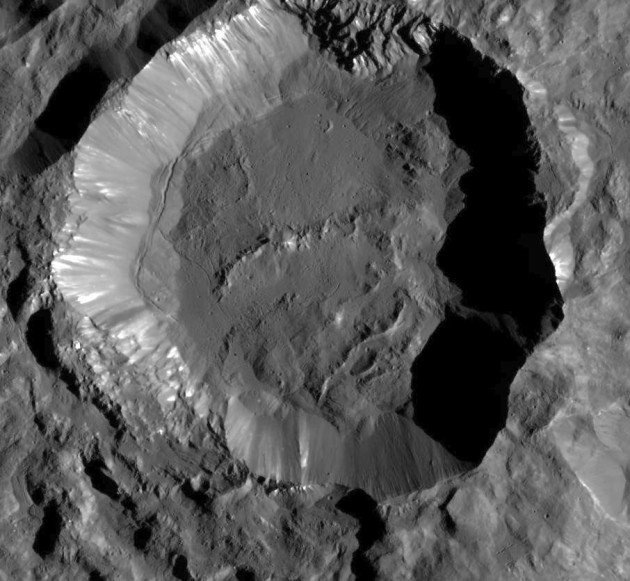 Kupalo Crater On Ceres
