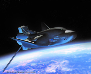 Dream Chaser with cargo module