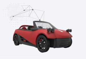 3-D printed car