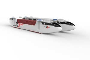 Arx Pax Hyperloop pods