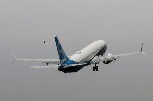 Boeing 737 MAX ascent