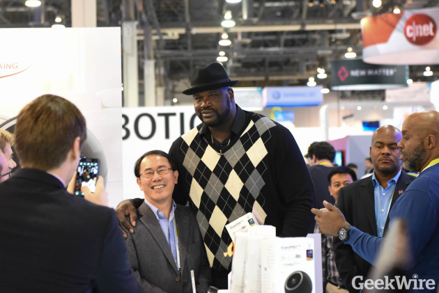 Shaquille O'Neal - CES