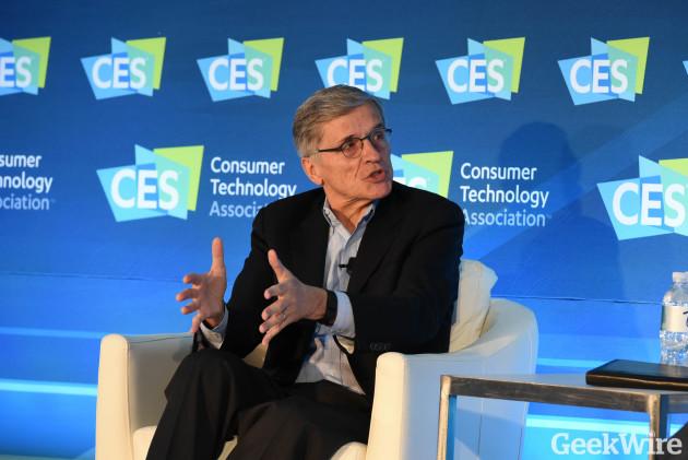 FCC Chairmain Tom Wheeler at CES 2016