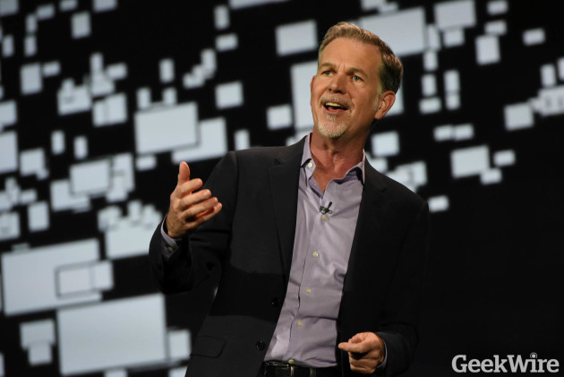 Netflix CEO Reed Hastings at CES.