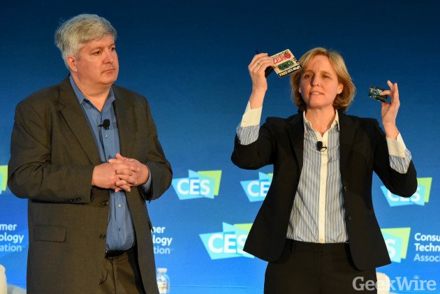 U.S. CTO Megan Smith and Deputy Director for Technology & Innovation at CES 2016
