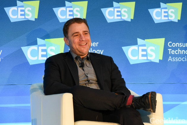 Slack CEO Stewart Butterfield at CES 2016