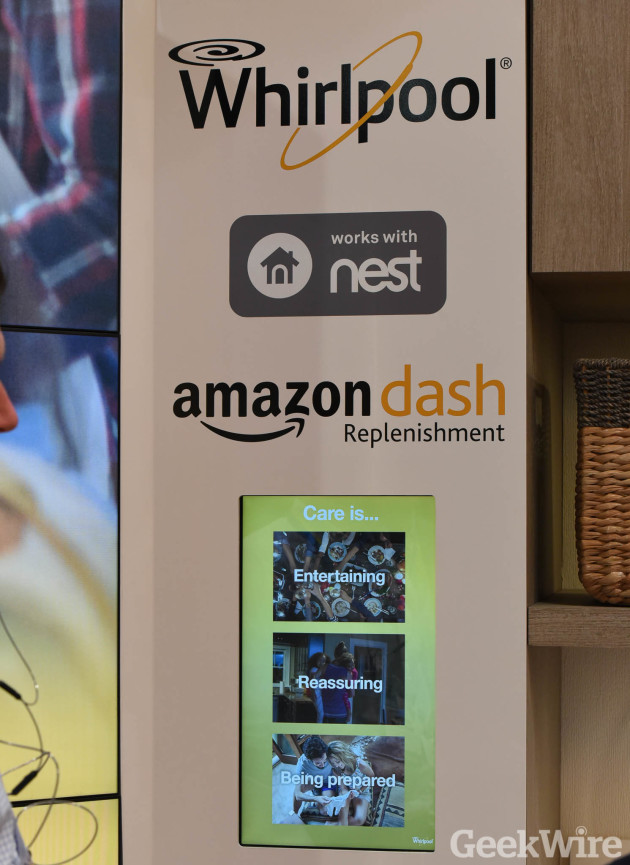 Whirlpool Amazon Dash Replenishment