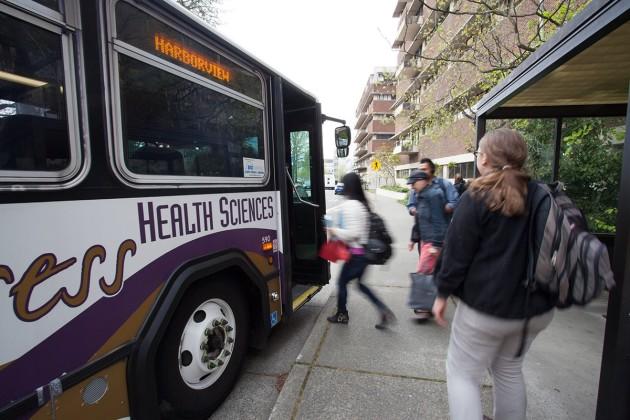 Bus from the University of Washington fleet. Photo: UW.