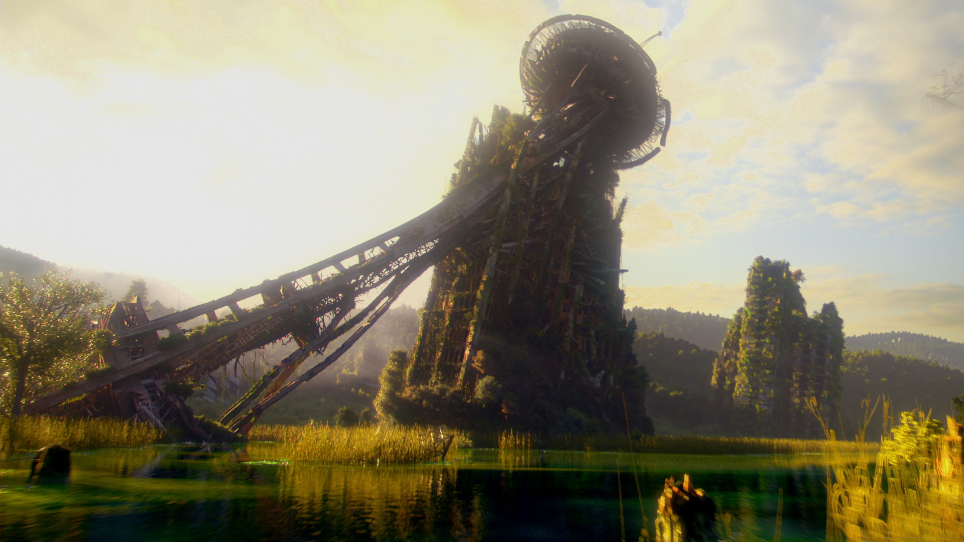 A Crumbling Space Needle MTV's 'Shannara Chronicles' Is