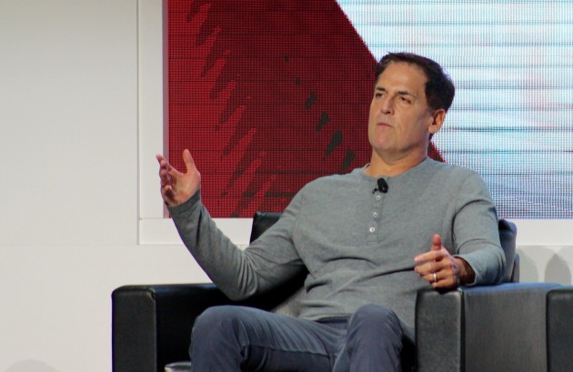 Mark Cuban at CES this month.