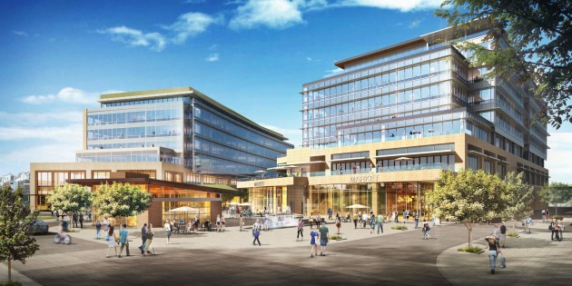 A rendering of Tableau's new space in Kirkland.