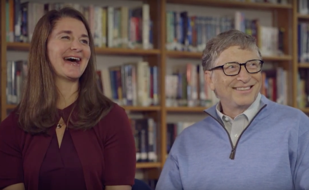 Bill and Melinda Gates. (BLHS via YouTube)