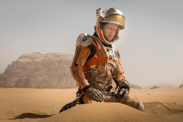 "Matt Damon stars as stranded astronaut Mark Watney in ""The Martian."" (20th Century Fox)"