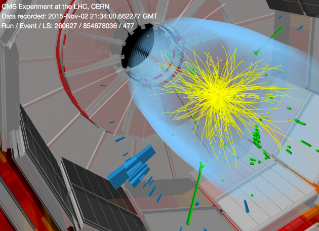 Image: Diphoton event