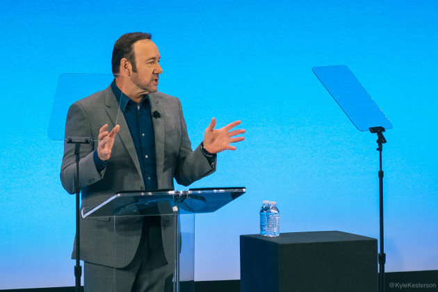 Kevin Spacey at the AT&T 2016 Developer Summit. Photos by Kyle Kesterson.